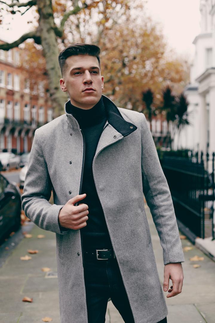 2 men's coats