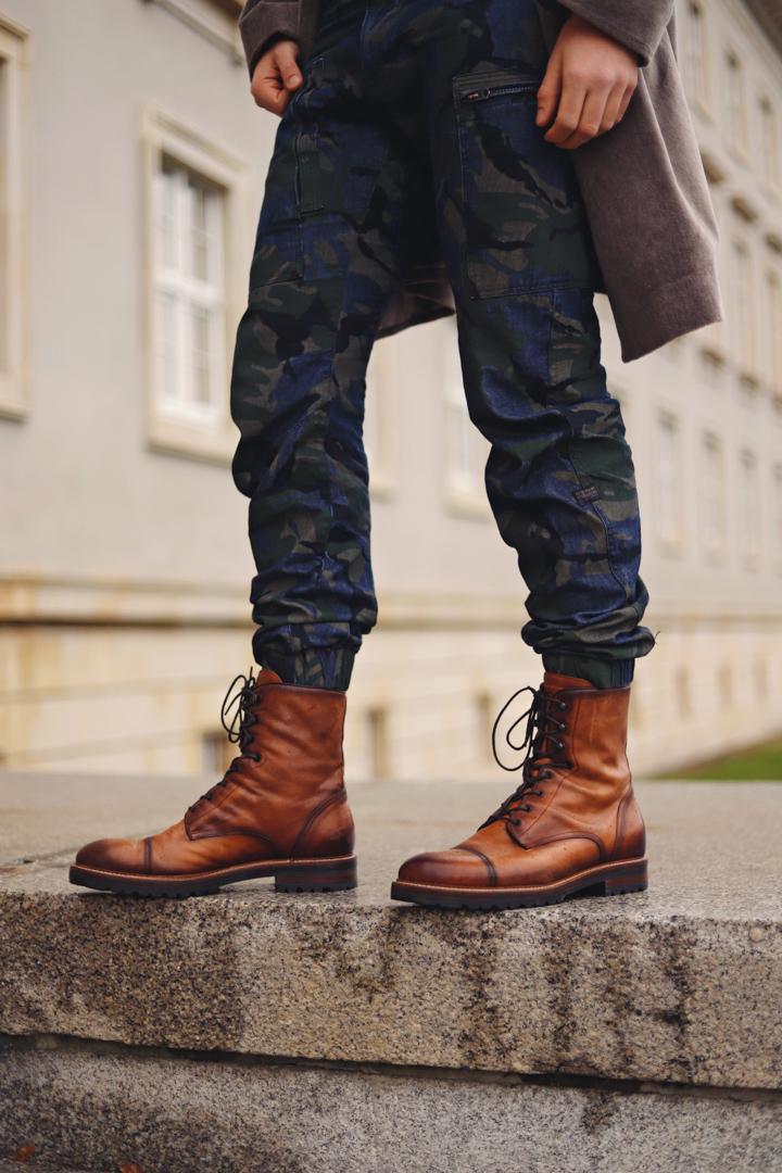 Men's military coat